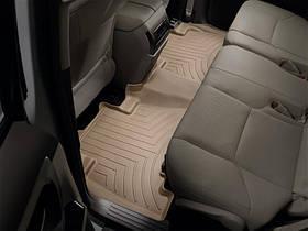 Ковры резиновые WeatherTech Toyota LC150 2009+  задние бежевые