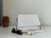 Белая женская сумка на плечо небольшая Pretty Woman, фото 1