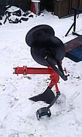 Картофелесажалка оборотная  БелМет для мотоблока (усиленная, опорное колесо), фото 1
