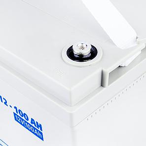Мультигелевый аккумулятор LogicPower  AGM LPM-MG 12 - 100 AH (12 Вольт, 100 Ач)., фото 2
