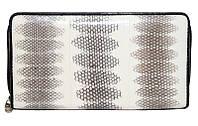 Кошелёк/клатч из кожи морской змеи SN 12 White