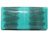 Кошелёк из кожи морской змеи.EXCLUSIVE SN 53 Turquoise