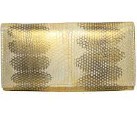 Кошелёк из кожи морской змеи.EXCLUSIVE SN 53 Gold