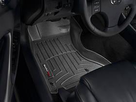 Ковры резиновые WeatherTech Lexus IS AWD 2006-2012 передние черные