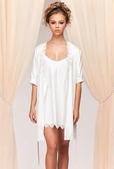 Комплект жіночий халат+сорочка Blues. ТМ Komilfo. M
