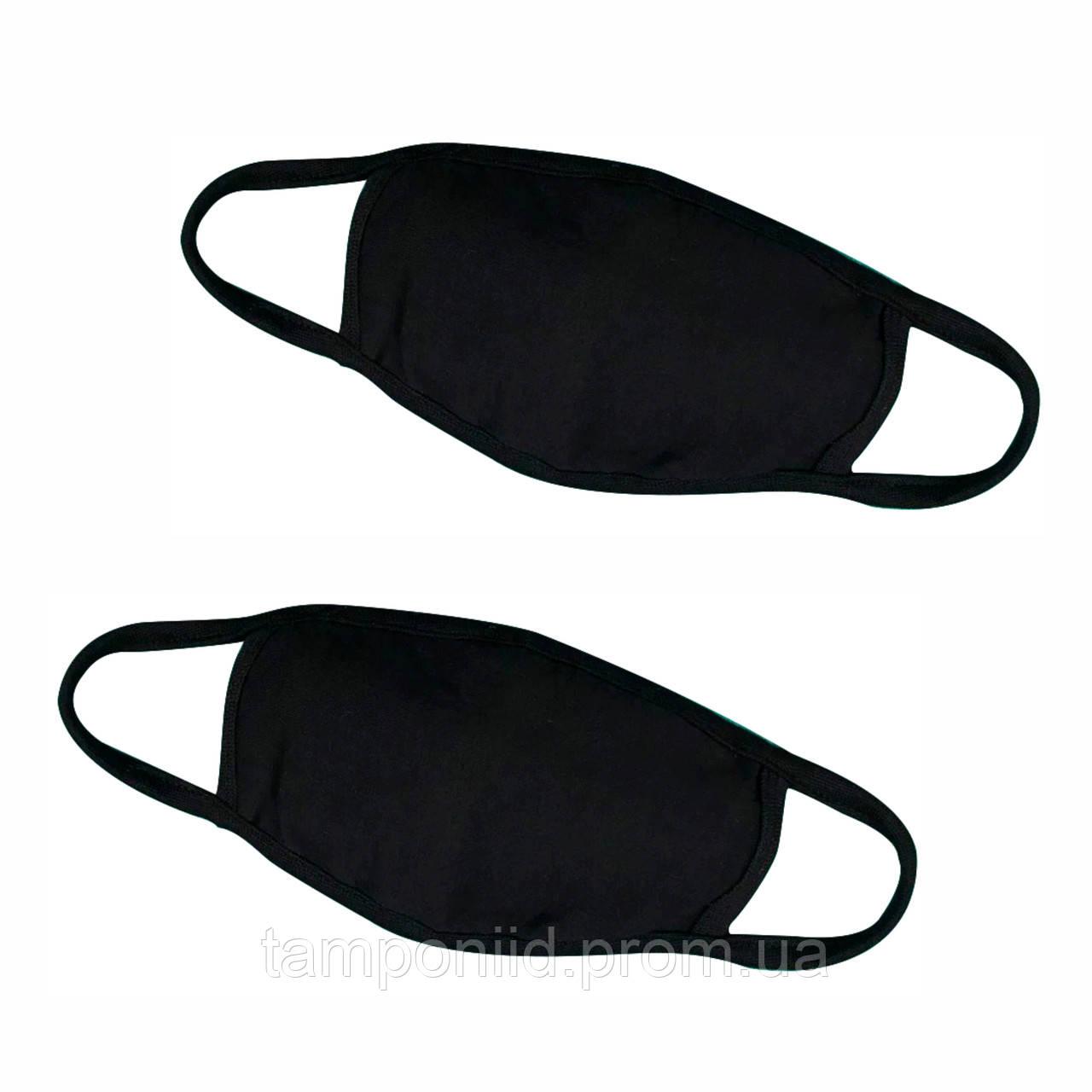 Мужская+Женская маска многоразовая из хлопка + съемный фильтр. В комплекте два запасных.