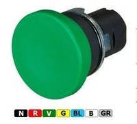 New Elfin, Кнопка виступаюча, цоколь - квадратний, пластиковий, жовта, ne020PQASGK