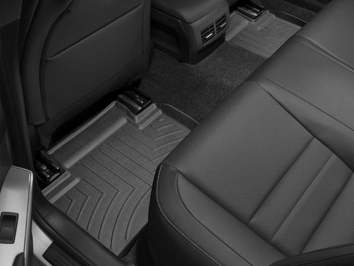 Ковры резиновые WeatherTech Lexus IS AWD+RWD 2014+ задние черные