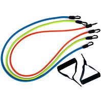 Набор эспандеров IronMaster для фитнеса дома многофункциональный 3 в 1 жгута + Чехол.