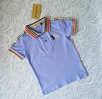 Детская футболка поло Burberry