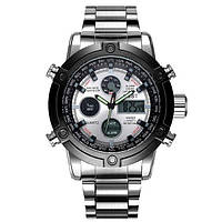 AMST 3022 Metall Silver-Black-Silver