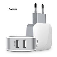 Сетевое зарядное устройство BASEUS Letour Dual 2 USB, 2.4А