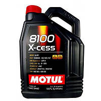 Моторное масло Motul 8100 X-cess 5W-40 5л. Синтетическое