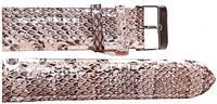 Ремешок для часов из кожи змеи  SNWS 01 Natural