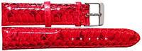 Ремешок для часов из кожи змеи  SNWS 01 Red