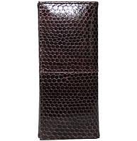 Ключница из кожи морской змеи.EXCLUSIVE SNKH 01 Brown