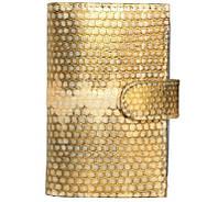 Визитница из кожи морской змеи.EXCLUSIVE SNCH 18-1 Gold