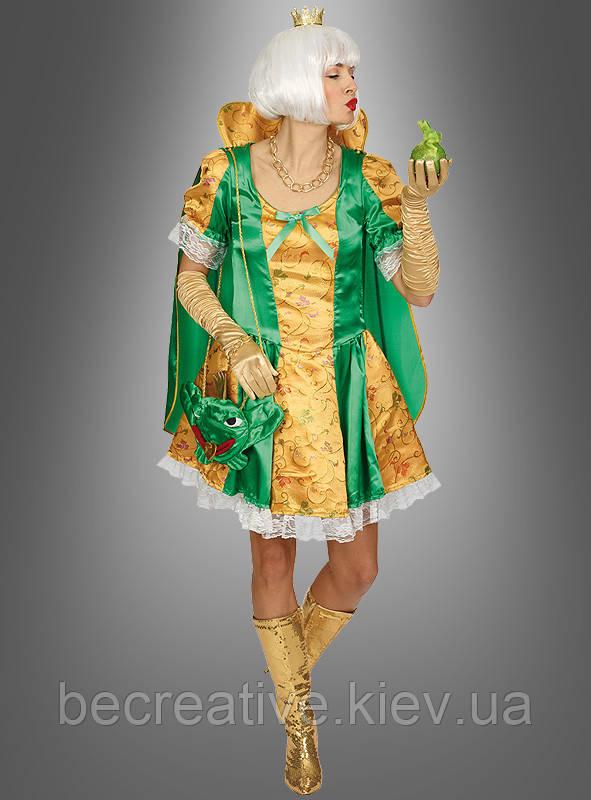 Женский карнавальный костюм Царевны-лягушки