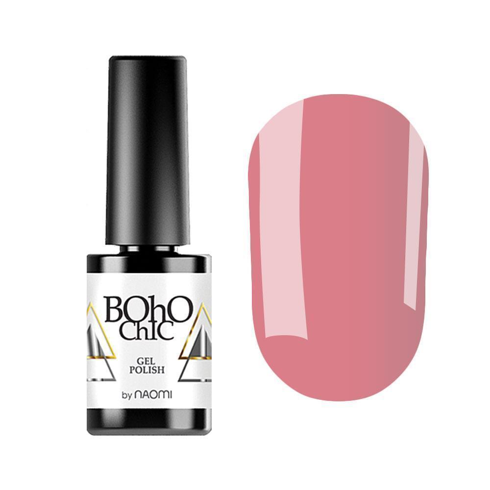Гель-лак для ногтей Naomi Boho Chic BC118 Темно-розовый, 6мл