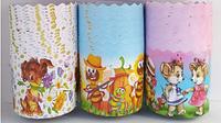 Форма для пасхи бумажная, форма для выпечки кулича  110х85мм, 300 грамм, 6 видов, набор 50 шт