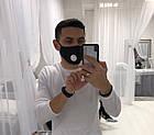 Захисна маска для обличчя багаторазова з клапаном+2 фільтра в подарунок, фото 7