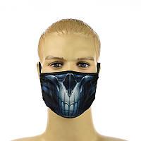 """Многоразовая маска на лицо """"skull"""""""