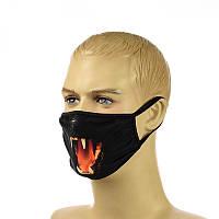 """Многоразовая маска на лицо """"wolf"""""""
