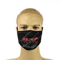 """Многоразовая маска на лицо  """"UFC"""""""