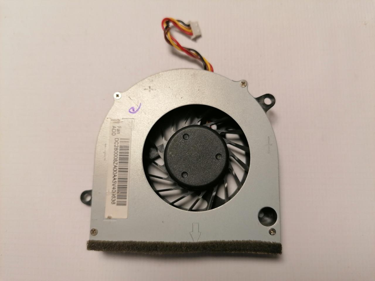 Б/У вентилятор (кулер) для ноутбука Lenovo G560 G565 Z560 Z565 (DC280008ZA)