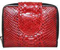 Кошелёк из кожи питона.EXCLUSIVE PT 038 Red