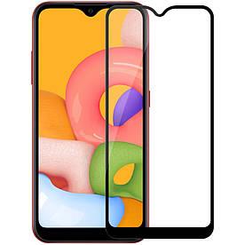 Защитное стекло 3D Optima для Samsung Galaxy A01 A015, Черное