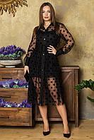 Нарядное платье ц. черный р. 46, 44, 42, 48