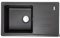 Гранитная мойка ADAMANT SLIM LONG 780х435х200 с сифоном