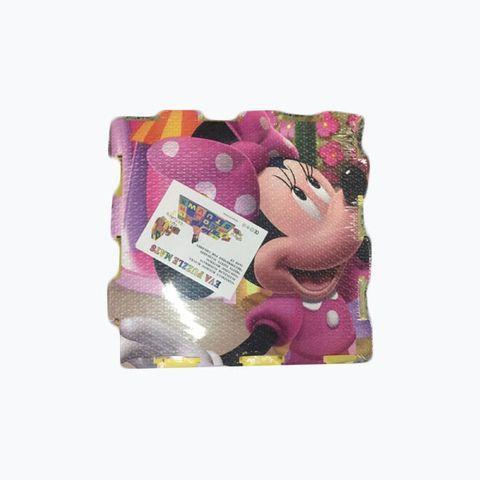 Коврик игровой Минни Маус (арт. 17A-2), 31х31х1см