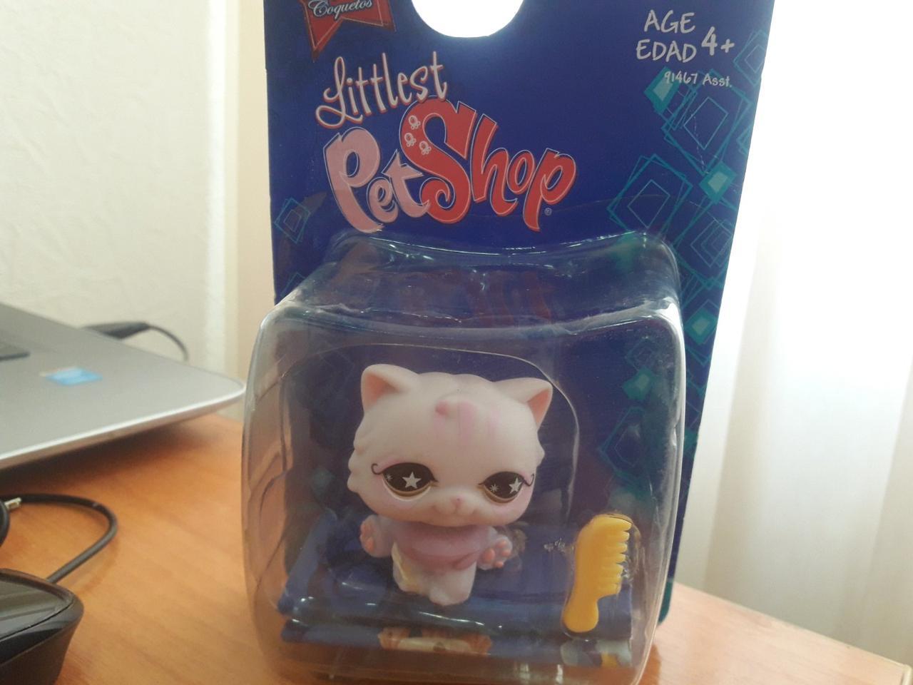 Littlest Pet Shop #891 игровой набор Sassiest Persian Kitty - lps старая коллекция-персидский котёнок 2008 год
