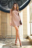 Платье женское, цвет: бежевый, размер: L, M, S, XL