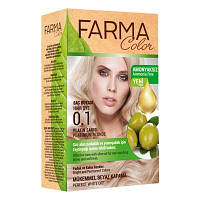 Краска для волос без аммиака Farma Color Платиновый блонд 0.1