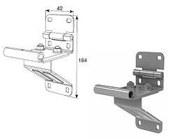 Боковая опора с удлиненным держателем ролика DoorHan, артикул 25234-3