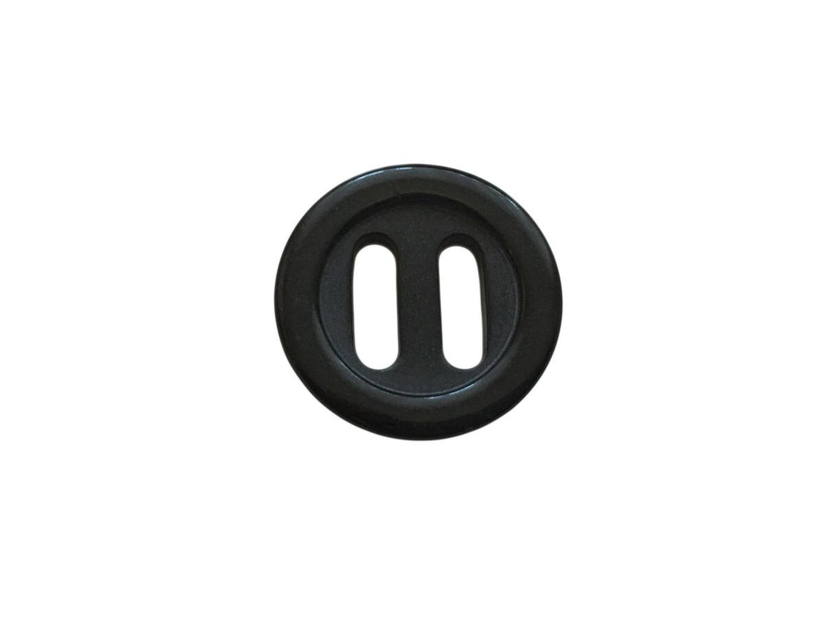 Пуговицы ПЕ - 614 д-р 25мм черный