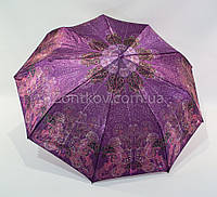 Женский складной зонтик VIVA полуавтомат сатин