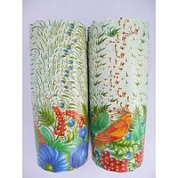 Форма для пасхи бумажная, форма для выпечки кулича  110х85мм, 300 грамм, набор 50 шт