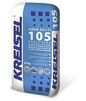 Клей для плитки эластичный для керамогранита и природного камня KREISEL GRES MULTI 105 (Крейзель Грес Мульти 105) 25 кг