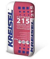 Клеевая и армирующая смесь для систем утепления фасадов Kreisel Cottage (Крайзель Коттедж) 215 25 кг