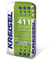 Товстошарова самовирівнююча суміш для підлоги 5-35 мм KREISEL DICKSCHICHTIGER FLIESSBODENSPACHTEL 411 25 кг