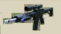 Автомат  Bushmaster ACR пневматический на пульках