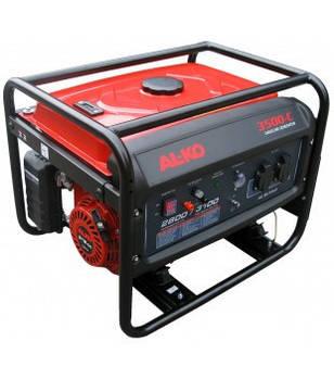 Генератор бензиновый AL-KO Comfort 3500 - C, мощность 2,8 кВт, бак 15л., вес 50 кг, ручной запуск