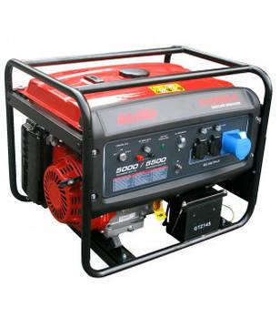 Генератор бензиновый AL-KO 6500 D-C, мощность 5 кВт, бак 25л.,вес 85 кг, электрозапуск