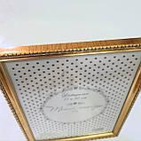 Фоторамка 21х30си, цвет золотистый, фото 2
