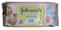 Салфетки влажные Johnson's Extra Sensitive 56 шт.