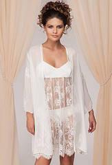Комплект жіночий халат+сорочка Kelli. ТМ Komilfo.S. M. L. XL